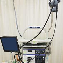 最新の内視鏡検査機器導