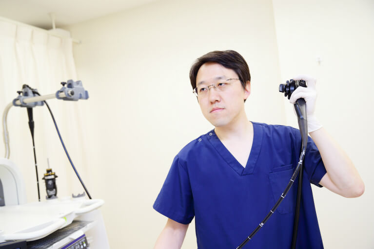 麻酔を用いた内視鏡検査