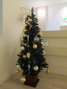 院内クリスマスツリー